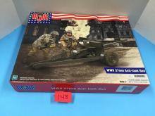 2002 GI Joe WWII 37mm Anti-Tank Gun NIB