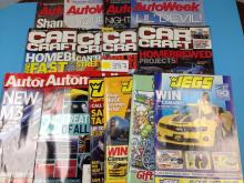(14) Various Auto Magazines - All For One Money