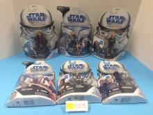 (6) Star Wars Legacy/Clone Wars Collection NIB - All For One Money