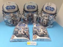 (5) Star Wars Legacy/Clone Wars Collection NIB - All For One Money