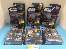 (6) Star Wars: The Clone Wars Action Figures NIB - All For One Money