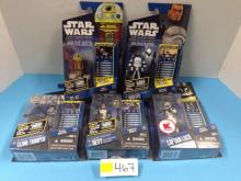 (5) Star Wars: The Clone Wars Action Figures NIB - All For One Money