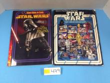 (1) Star Wars Coloring Book & (1) Star Wars Price Guide - All For One Money