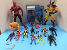 (14)Various Loose Action Figures & Accs (inc: Avatar 'Col. Quarich' Figure NIP) - All For One Money