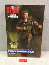 GI JOE Classic Collection (1997 Limited Edition) French Foreign Legion