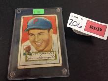 1952 Topps Joe Garagiola baseball card