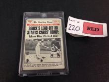 1969 Topps 1968 World Series Game #4 baseball card