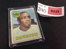 1969 Topps Joe Morgan baseball card
