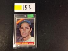 1966 Topps Sandy Koufax Baseball Card