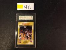 1996 GRADED Sports Illustrated Michael Finley NBA Card