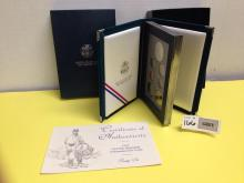 1995 Civil War Battlefield Prestige Proof Set w/COA