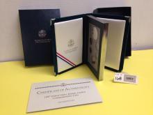 1997 US Botanic Garden Commemorative Coin Prestige Set w/COA