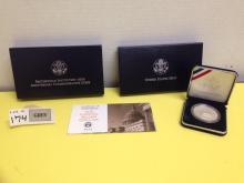 1996 P Smithsonian Institution 150th Anniversary Commemorative Coin Proof w/COA
