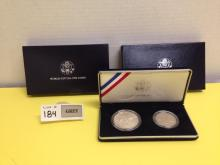 1994 World Cup USA Commemorative Coins, 2-Coin Proof - NO Documentation
