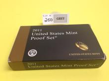 2011 US Coin & National Park Quarters & Presidential One Dollar Proof Sets w/COA