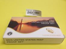 2013 US Coin & National Park Quarters & Presidential One Dollar Proof Sets w/COA