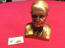 President Dwight D Eisenhower coin bank