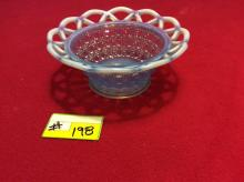 Gorgeous blue candy dish