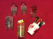 Kentucky Derby Glass Bar Collection
