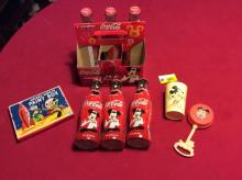 Miscellaneous Mickey Mouse and Walt Disney collection including vintage pieces