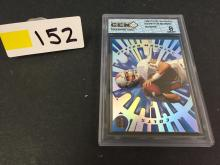1998 Pacific Revolution Graded Payton Manning Rookie NFL Card