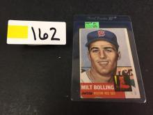 1953 Topps Milt Bolling Baseball Card