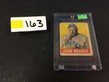 1949 Leaf John Wagner Baseball Card