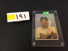 1953 Bowman Duke Snider Baseball Card