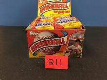 1988 Topps Baseball Bubblegum Card Packs