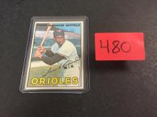 1967 Topps Frank Robinson Baseball Card