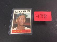 1964 Topps Ernie Banks Baseball Card