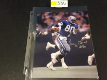AUTOGRAPHED Tony Hill NFL Photograph