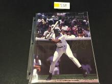 Frank Thomas 1991 Chicago White Sox Game Program 4th Edition
