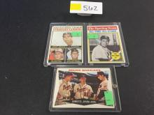 '60 Topps Mound Magicians/'61 Topps Sporting News/'64 Topps NL Strikeout Leaders - all for one money
