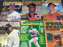 (6) Miscellaneous Baseball Magazines - all for one money
