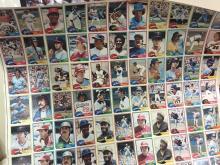 RARE 1981 Topps UNCUT Baseball Card Sheet