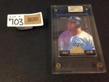 1994 Team Pinnacle Frank Thomas/Jeff Bagwell baseball card
