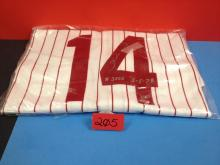 Pete Rose Autographed Jersey