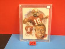 Joe Montana Autographed Photo with COA