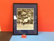 Autographed Troy Aikman Photograph Framed & Matted