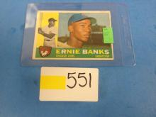 1960 Topps Cubs Ernie Banks