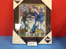 TimeWarp Framed & Matted Ted Hendricks (40/5000) NIP