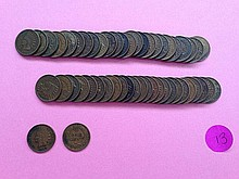 (50) Roll IH Cents 1900s VG to VF!