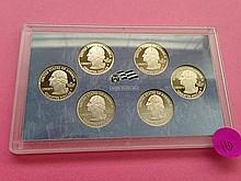 2009-S Territory Proof Quarter Set!
