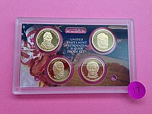 2009-S Presidential $1 Proof Set!