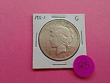 1926-S Peace Dollar G!