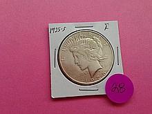 1925-S Peace Dollar F!
