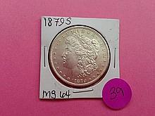 1879-S Morgan Dollar MS64!