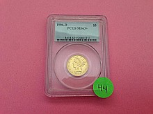 1906-D $5 Dollar Gold Piece PCGS MS63+
