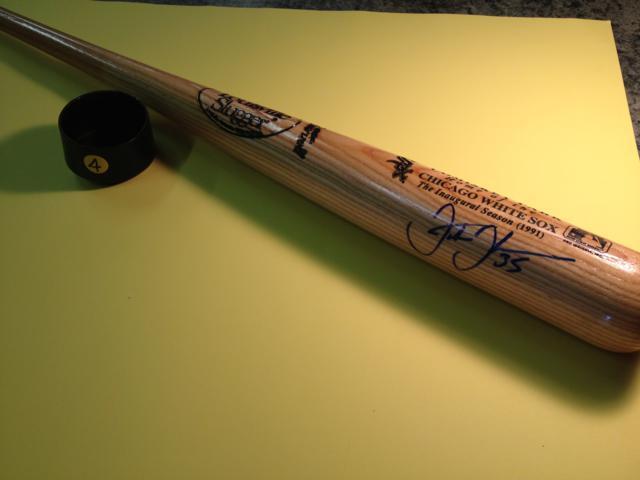 Autographed Baseball Bat ~ Frank Thomas